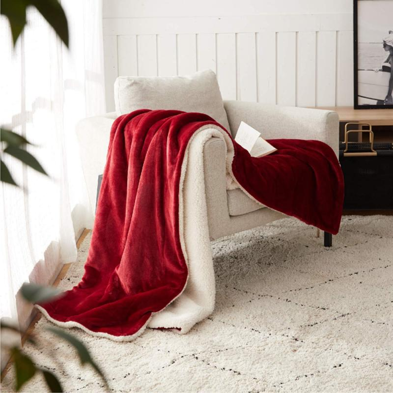 BEDSURE Fleece Twin Size Throw Fuzzy