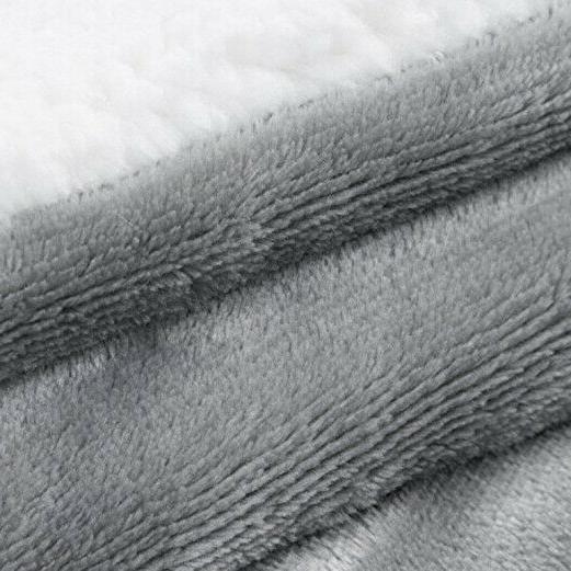 Bedsure Fuzzy Throws Fleece Reversible