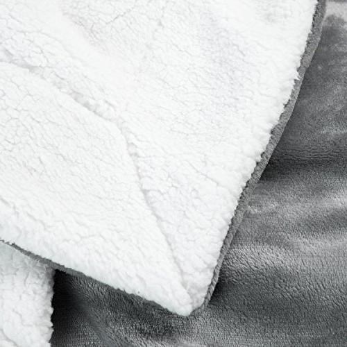 BEDSURE Queen Size Throw Blanket Fuzzy Blanket