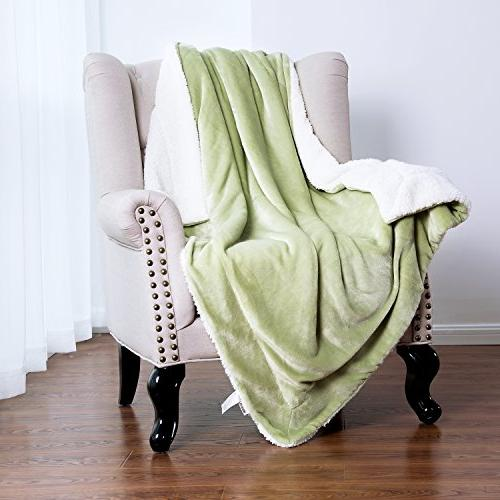 Bedsure Sherpa Throw Blanket 50x60 Bedding Blanket Couch