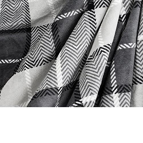 PAVILIA Premium Blanket   Soft Reversible All Season Design Fleece Blanket