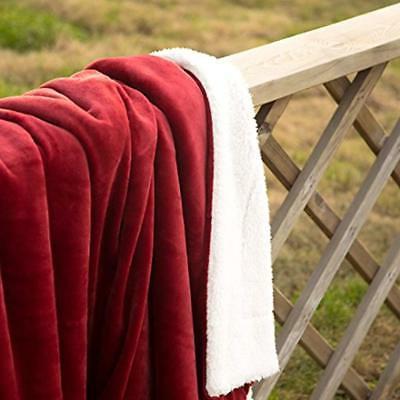 Sherpa Blanket Twin Size Fuzzy Soft