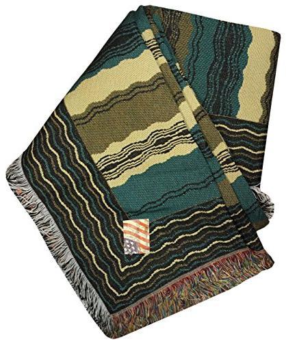 Manual Smooth Interface Tapestry Sofa