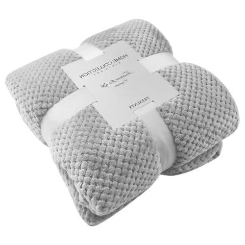 Soft Throw Blanket Silky Flannel Lightweight