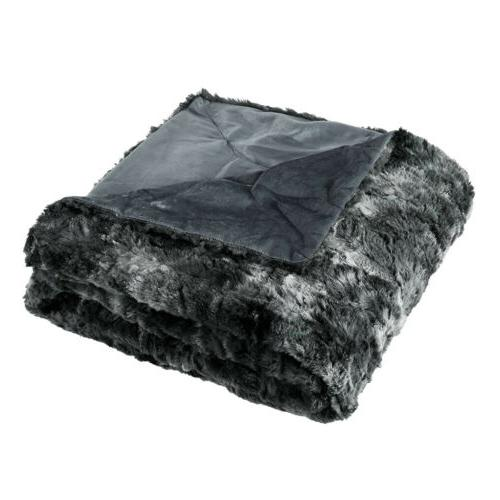 """60"""" X Flannel Fur Couch"""