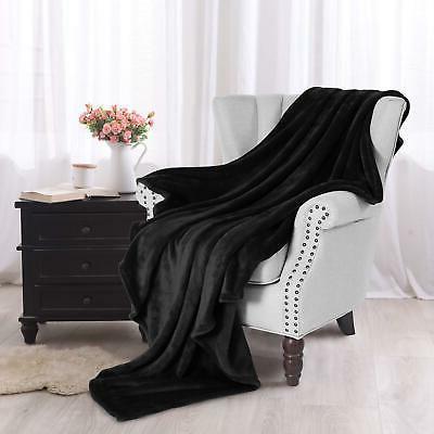 "Exclusivo Fleece Velvet Plush Blanket - 50"" 60"""