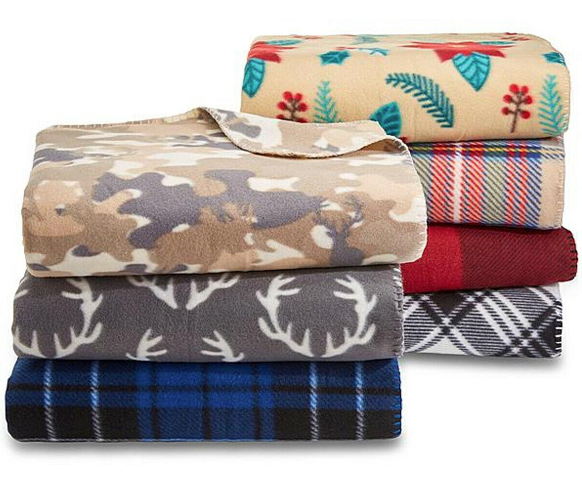 soft fleece throw blanket 60 x 50