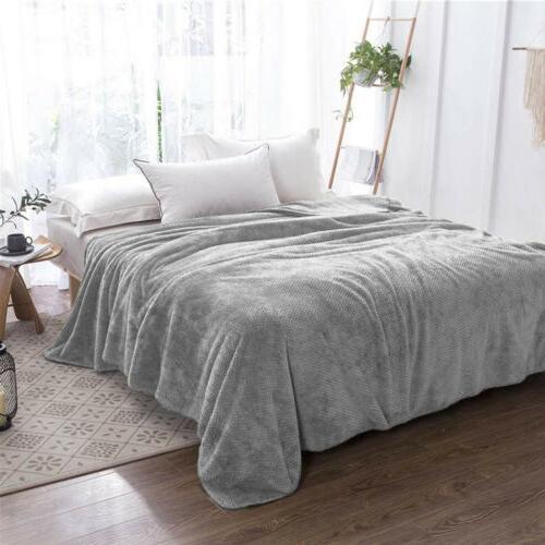 Soft Reversible Fleece for Sofa Bed