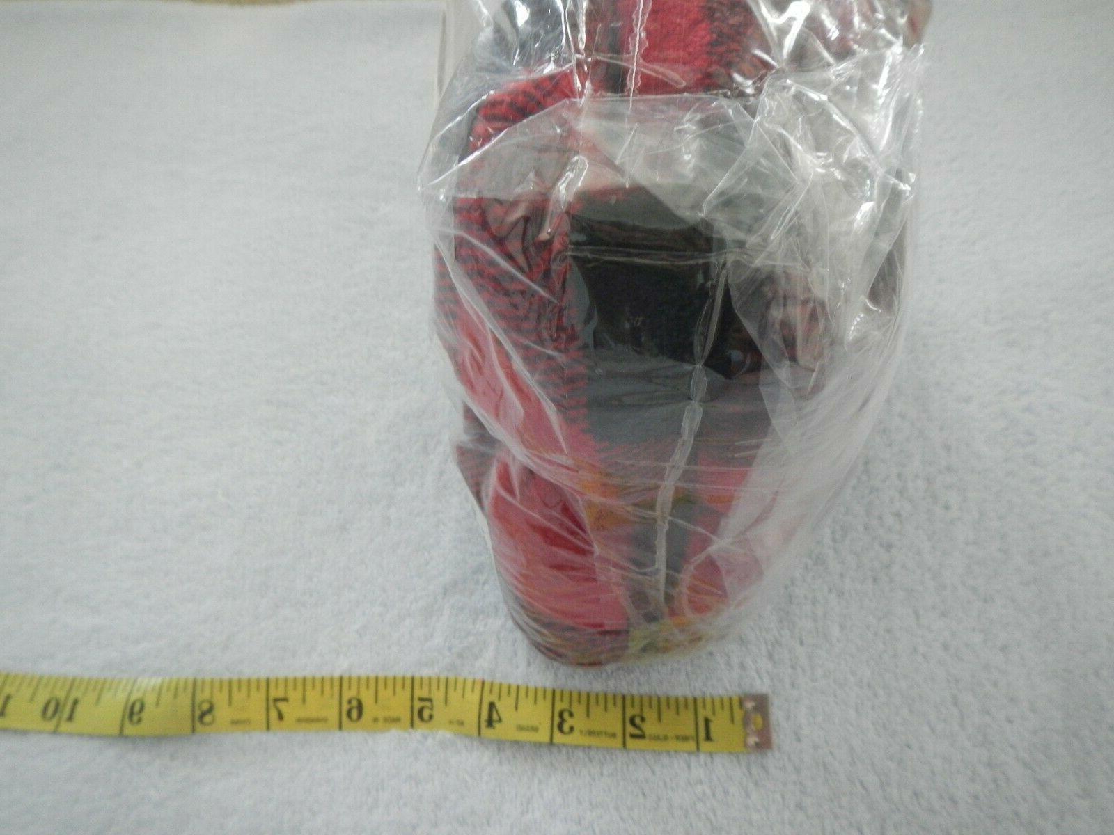 """PAVILIA BLANKET - BLACK RED - 50"""" -"""