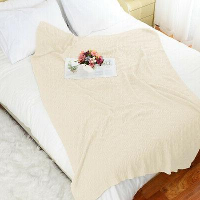 Soft Warm Cable for Bed Home Decor