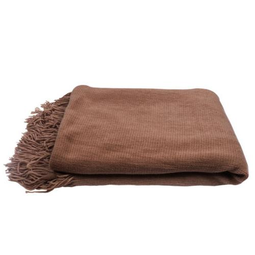Solid Cable Knitted Home Bed