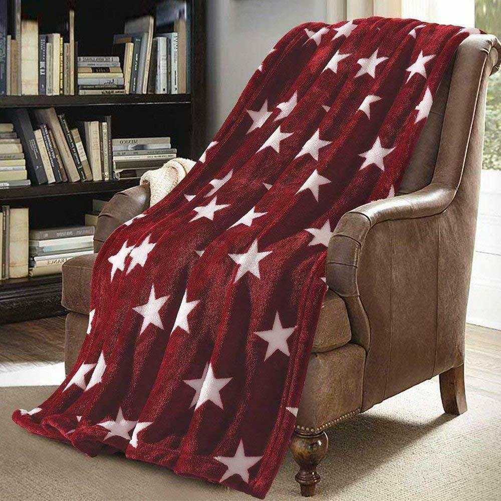 xmas gift soft versatile throw lightweight travel
