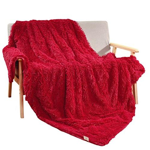 Queen or King Size Bed 1Pcs TiTa-Dong Fleece Flannel Blankets Throws Plush Velvet Soft Blankets Baby Bed Couch Sofa Pet for Single Twin Travel Full