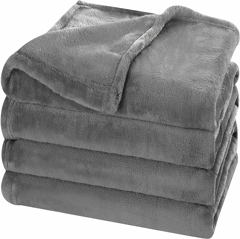 Super Soft Flannel Blanket Bed Warm