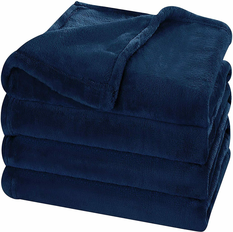Super Flannel Fleece Blanket Lightweight Blanket Utopia Bedding
