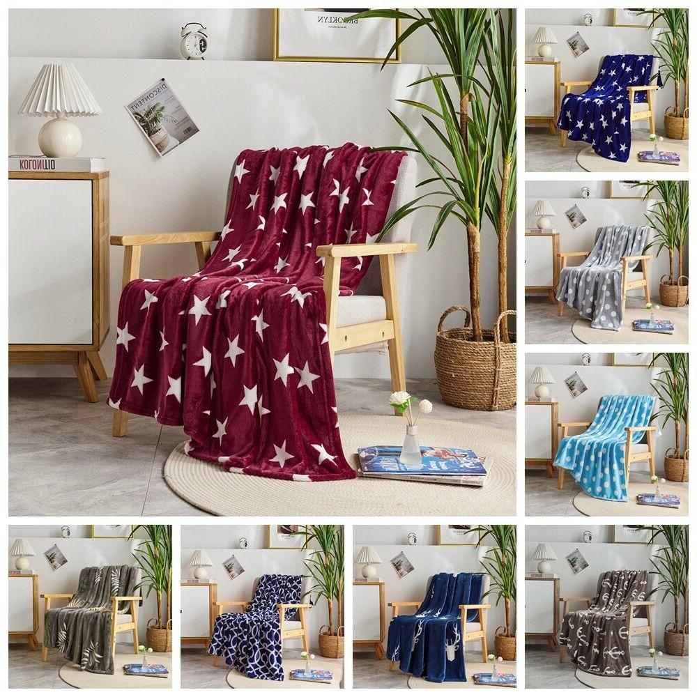 super soft fleece throw blanket for couch