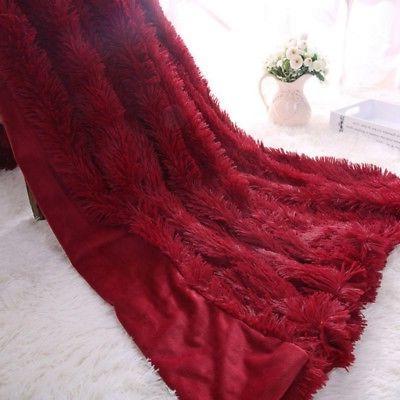 Super Fluffy Fur Blanket Shaggy Cozy 1.6*2M