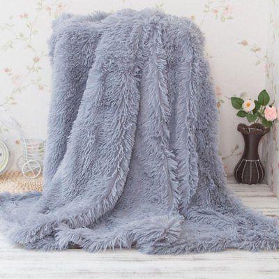 Super Soft Fluffy Fur Blanket 1.6*2M