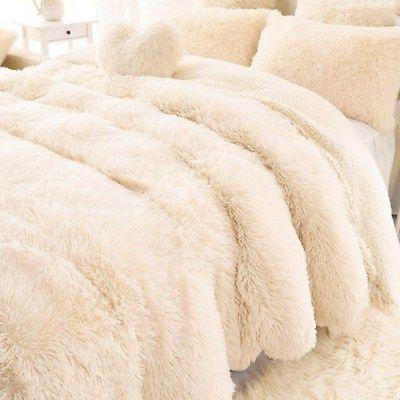 super soft fluffy faux fur blanket long