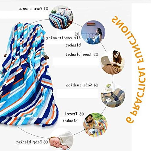 Super Soft Throw Blanket/Winter,Bicycle Covered with Weather Calm Christmas Bed for Teen Girls