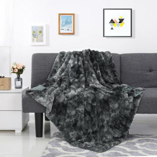 Super Soft Faux Blanket Throw Bedding