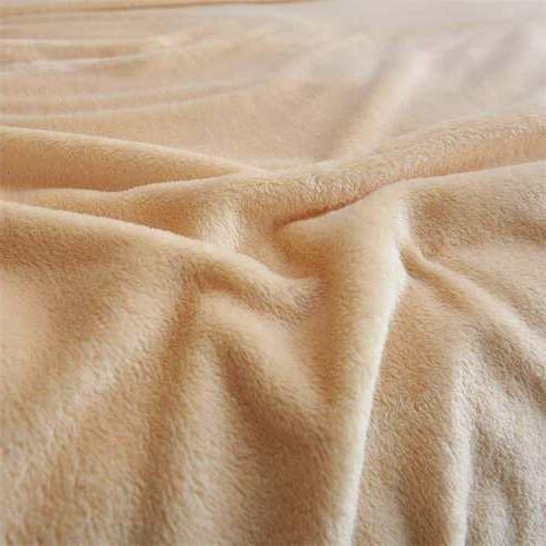 Super Soft Warm Warm Micro Plush Blanket Sofa US
