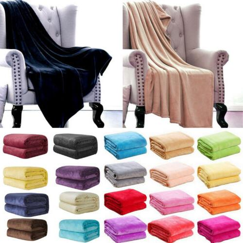 Super Soft Warm Micro Plush Blanket US