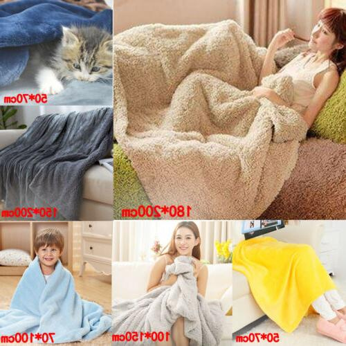 super soft warm plain warm micro plush