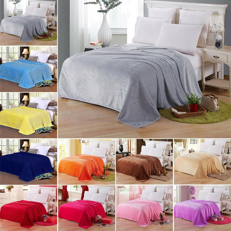 Bedsure Luxury Flannel Fleece Blanket Plush Blanket Throw Mi