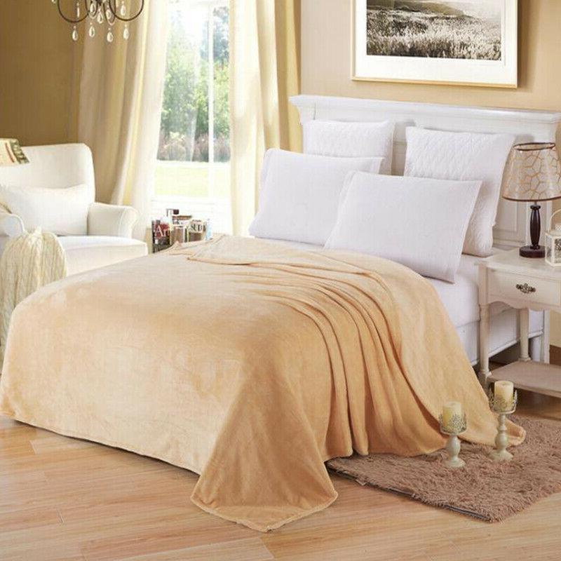 Sherpa Bedsure Fleece Blanket Throw Bed