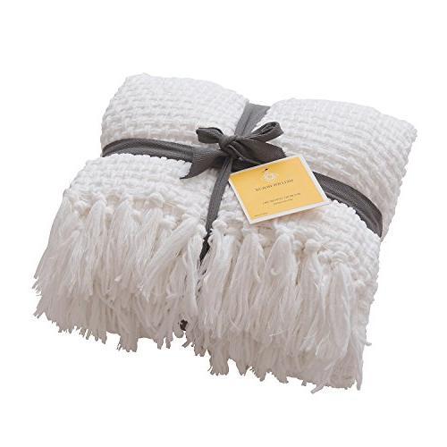 super soft woven plaid pattern