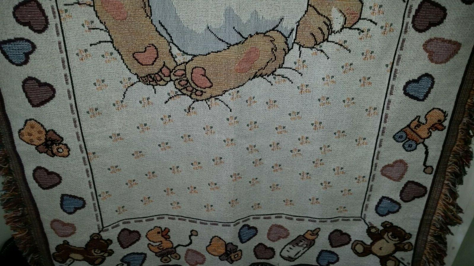 Suzy Woven Blanket Bunny