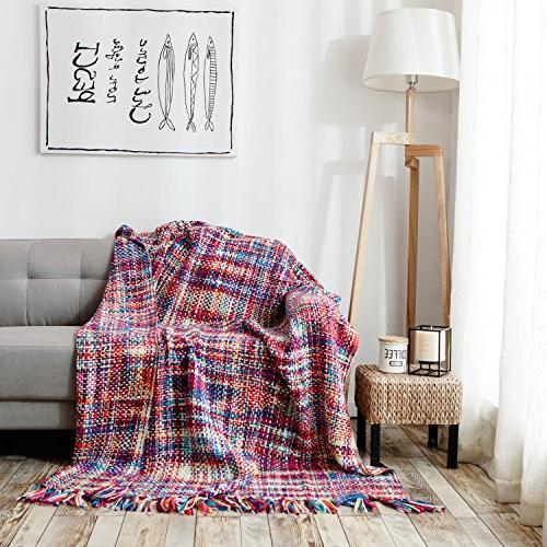 throw blanket chic boho luxury