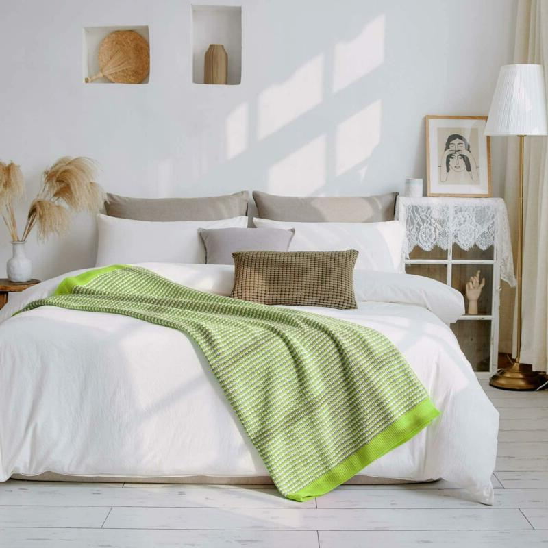 VEEYOO Throw Blanket for Couch - Blankets x 65
