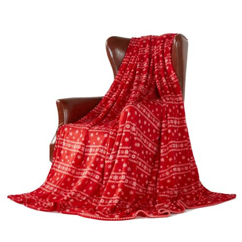 MERRYLIFE Throw Blanket for Couch Travel Blanket| Throw Size
