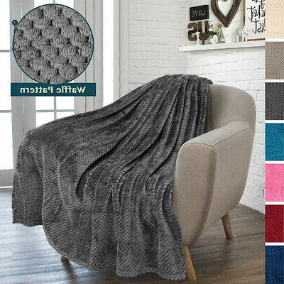 throw blanket for sofa couch bed lightweight