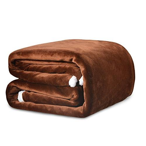 Sable Throw Blanket Sherpa Fleece Flannel Blanket for Bed, S