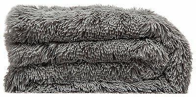 "Throw Shaggy Fuzzy Fur Warm Sherpa 50""x65"""