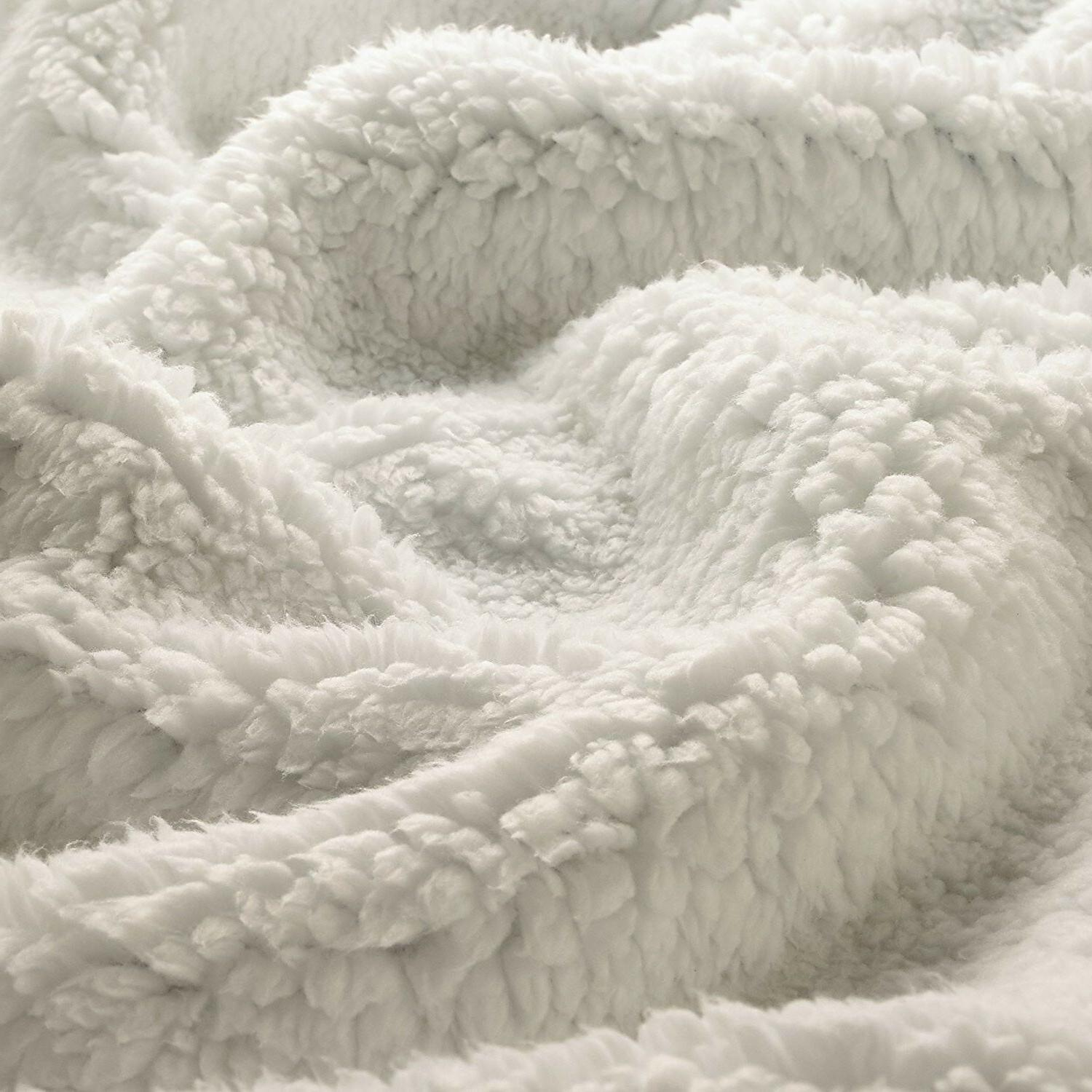 Throw Blanket Super Reversible Genteele Sherpa