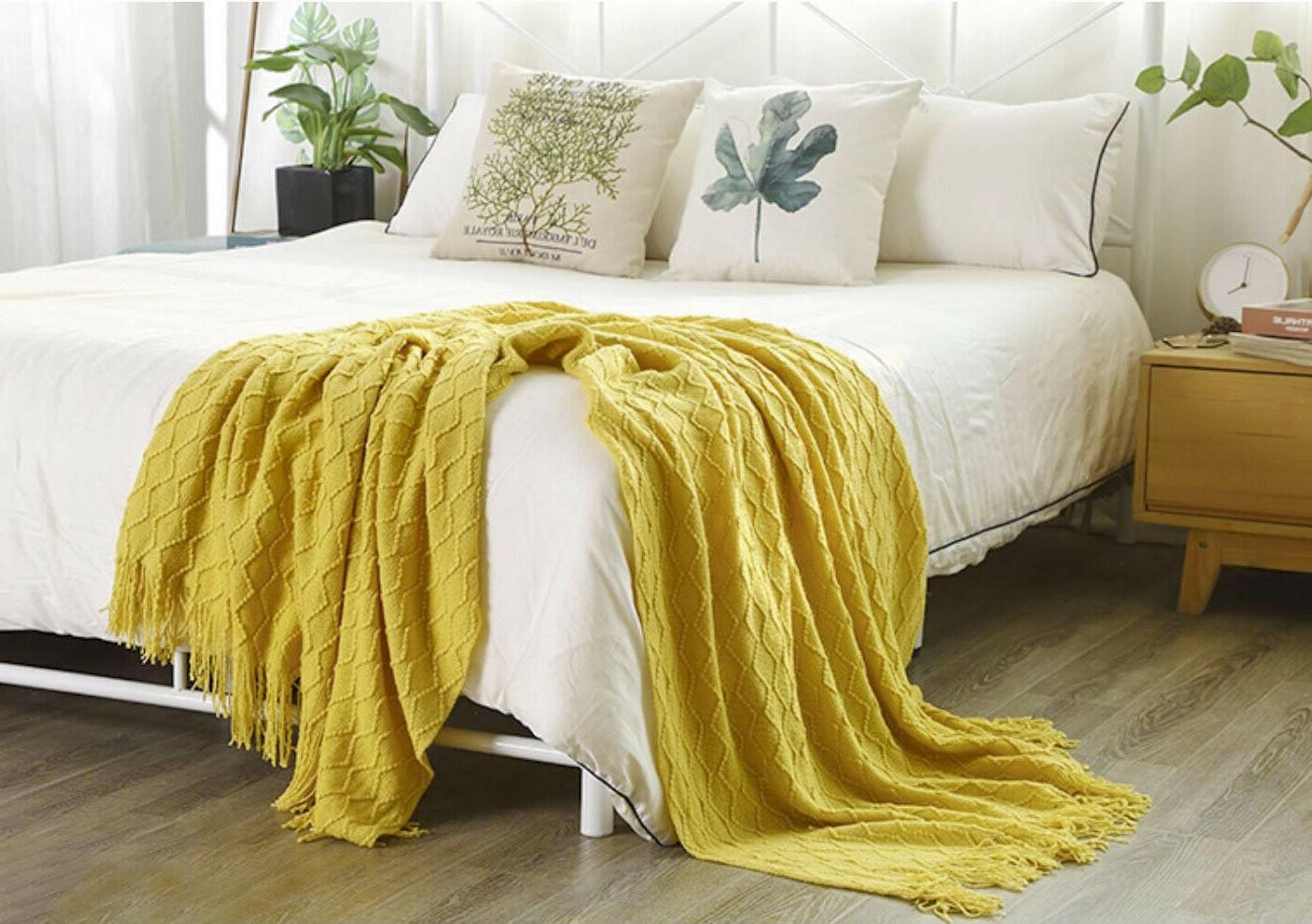 "Boritar Blanket Warm Knit Winter Bed 50x60"""