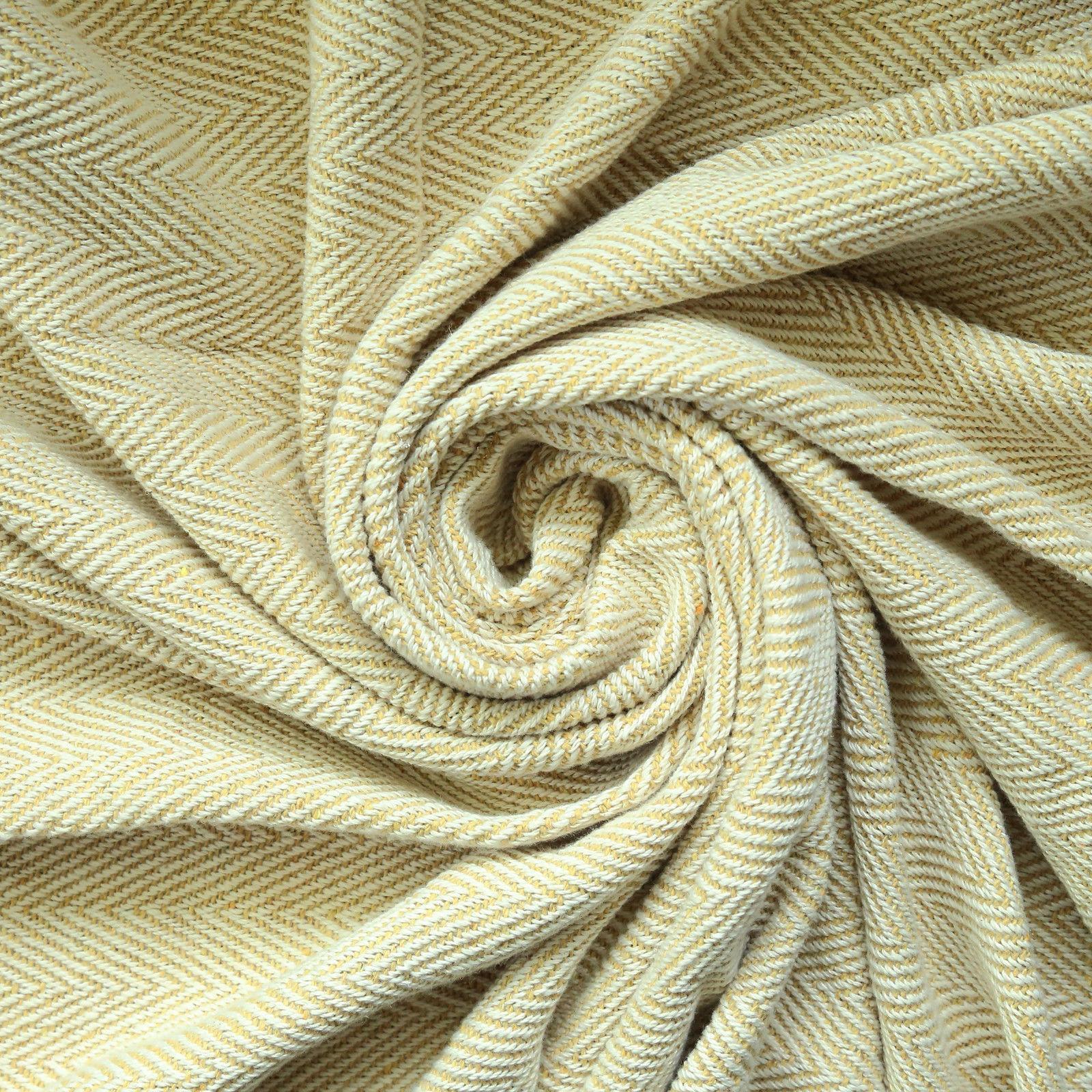 "Throw Blanket with Tassel Woven Blanket 50"" X Decorative"