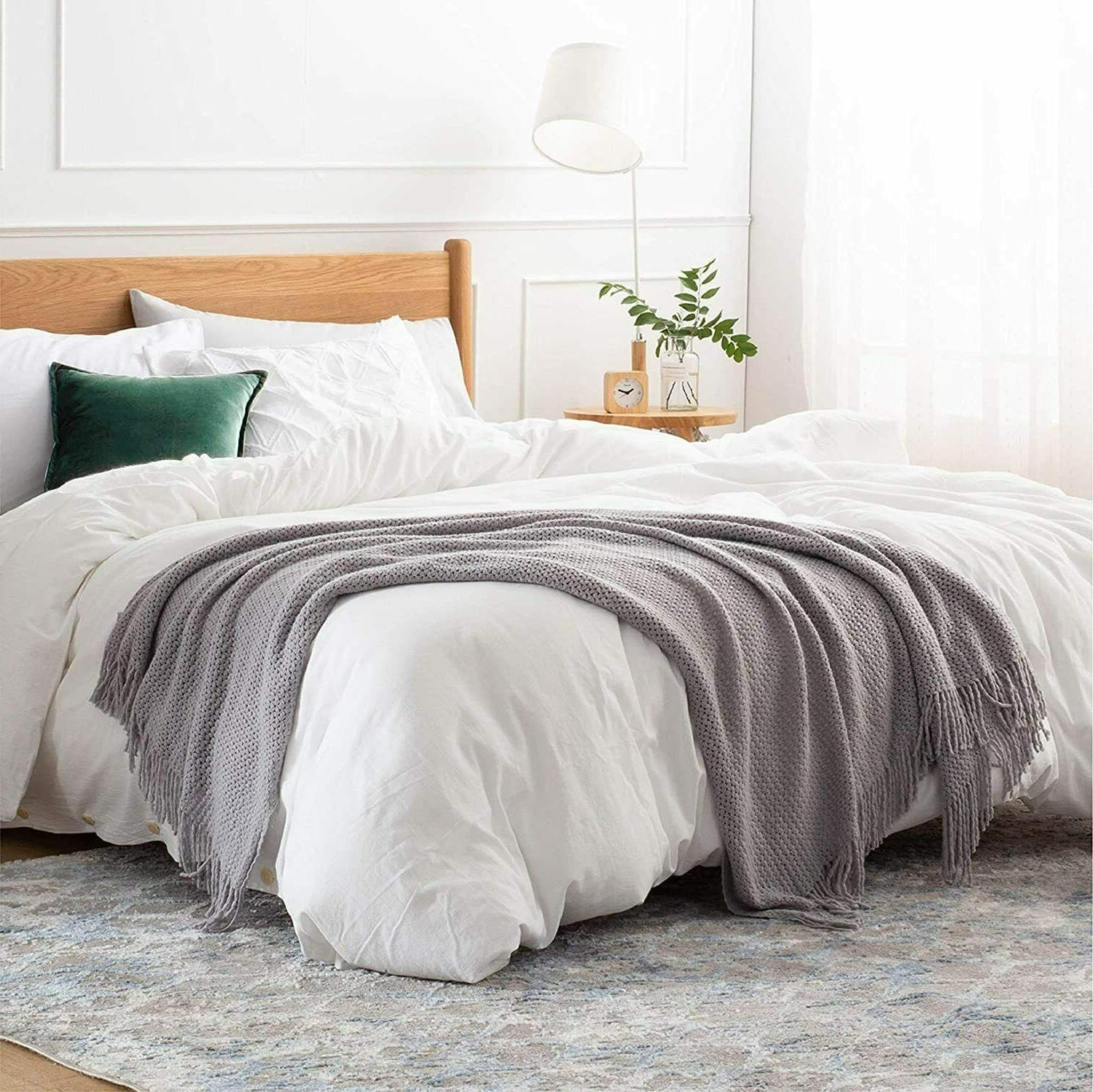 Bedsure Throw Couch Soft Blanket Lightwe...