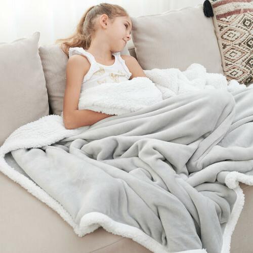 Throw Blanket Extra 50×60 Plush Fabric
