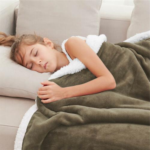 Throw Blanket Plush Warm US