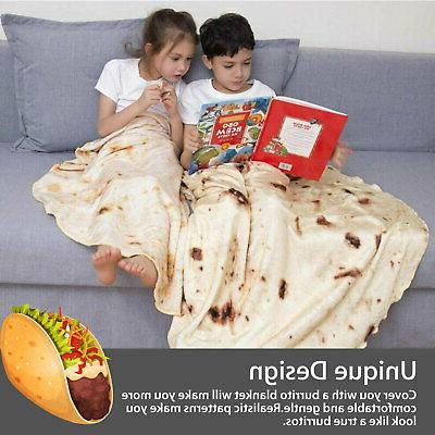 Round Taco Shaped Wrap