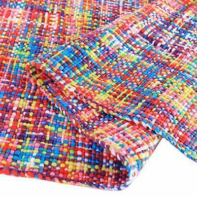"""Battilo Tropical Style Multi-Color Rainbow Throw Blanket X 49"""""""