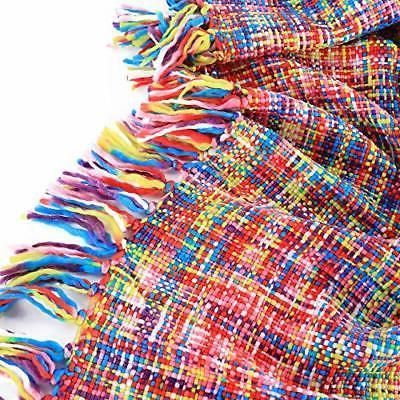 "Battilo Style Multi-Color Rainbow X 49"""