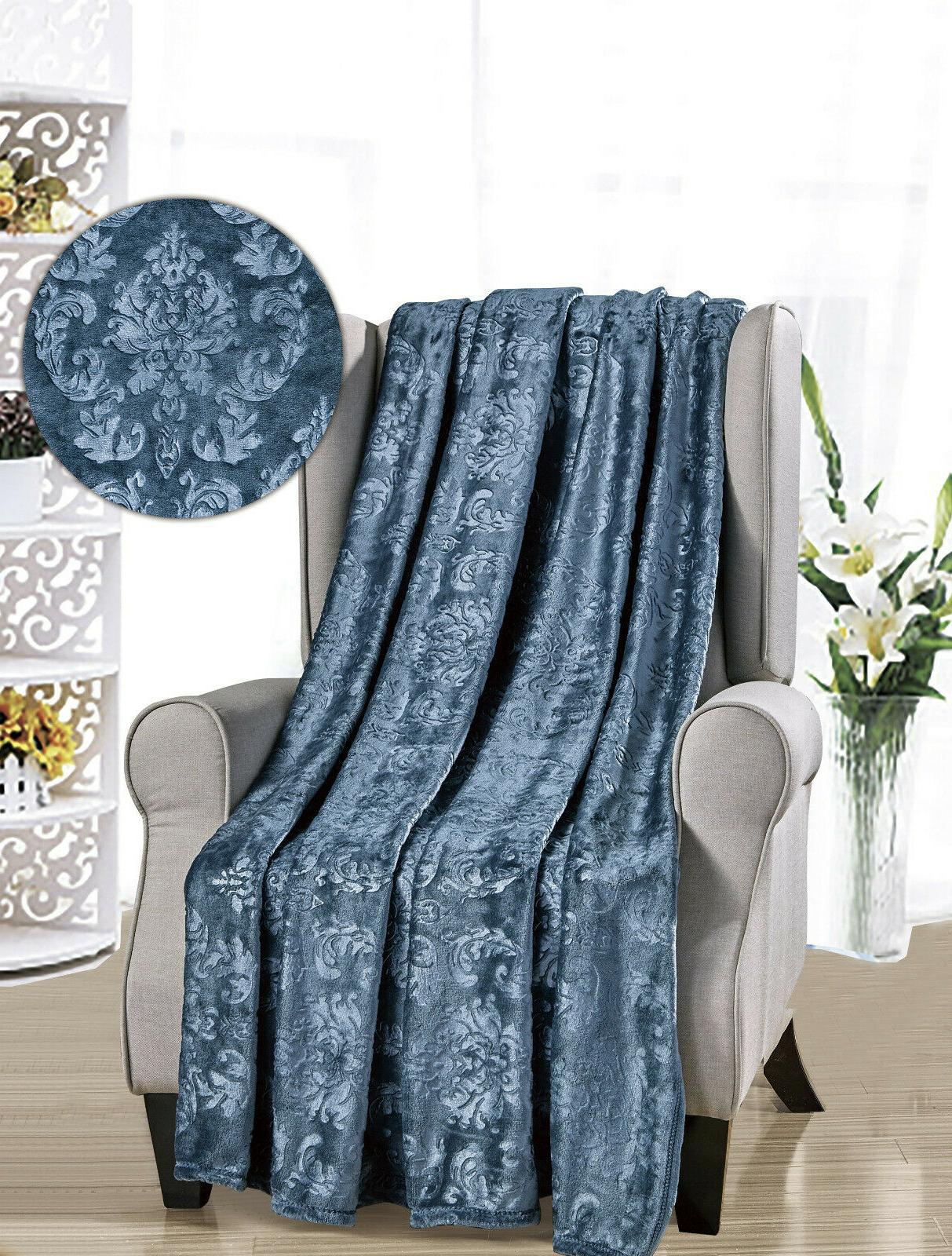 Ultra Plush Damask - Colors