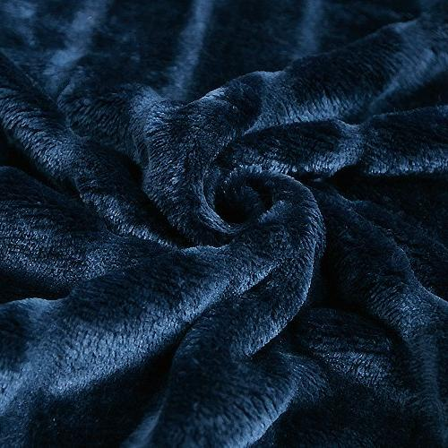 "Bertte Velvet Super Decorative Stripe Throw Blanket-50""x"