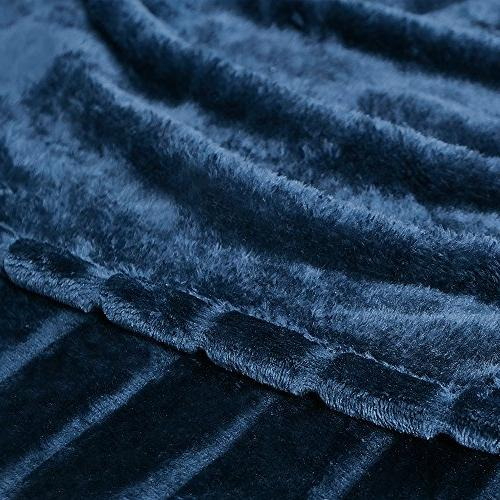 "Bertte Velvet Super Soft Throw Blanket-50""x"